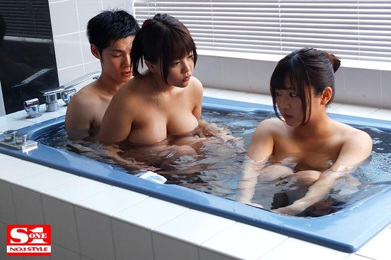 [中国語字幕]SSNI-558 巨乳姉妹2人とただひたすらセックスに明け暮れた両親不在の3日間