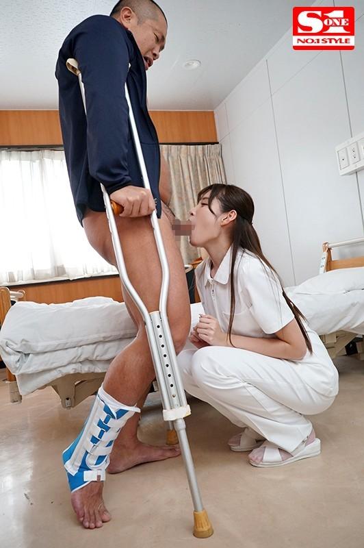 SSNI-369 身動き取れない患者を完全主導でセックス看護するエロ過ぎ世話好き新米ナース 橋本ありな