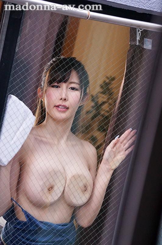 JUY-484 絶品最強グラマラス美女《移籍》初登場!! 向かい部屋の人妻 あかぎ碧