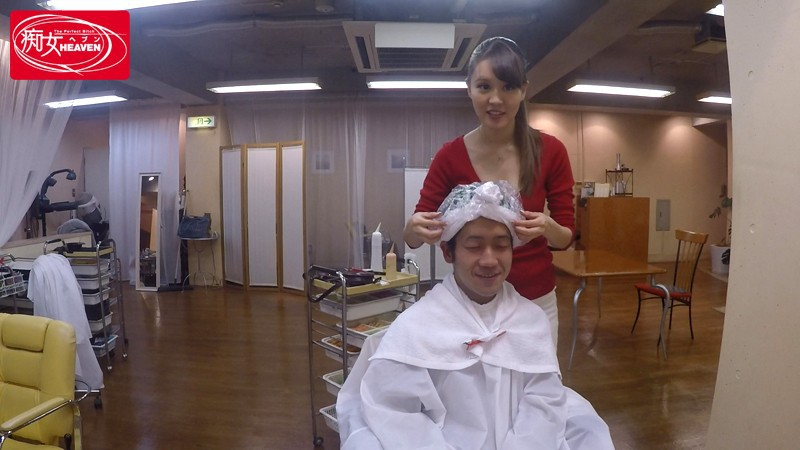 CJOD-072 巨乳美容師の誘惑チラリサロン 立花瑠莉