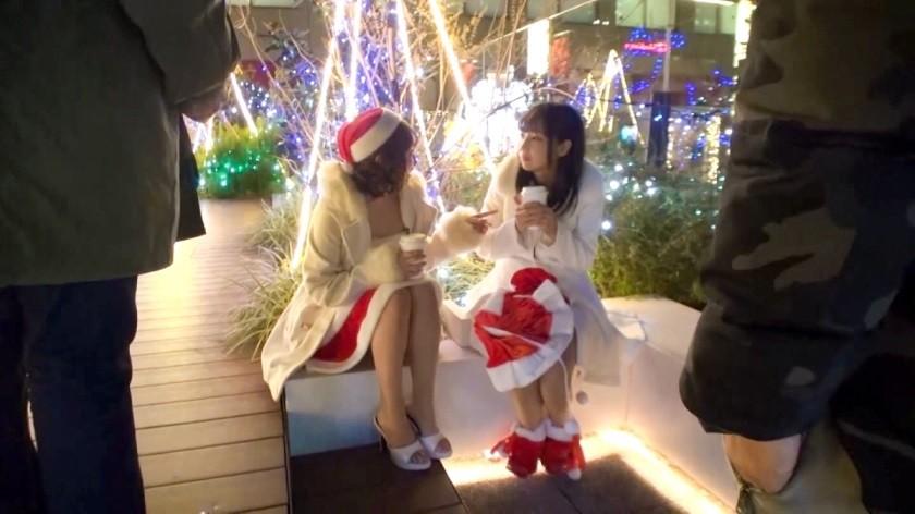 326EVA-017 【クリスマスナンパ×えりかちゃん編】部屋内大量放尿しちゃうパリピで肉食系なキャンギャル先輩えりかちゃんのヤル気と手の速さが刺激的なエロサンタクリスマスパーティー!