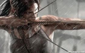 [3D][無字]Lara in trouble IV in Tomb Raider Underworld
