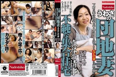 [中国語字幕]NASH-257 不純な集合住宅 うわさの団地妻 真昼の情事 妻は平凡な専業主婦であった。下町の集合住宅で平凡な日々を送っている5人の妻には別の顔が・・