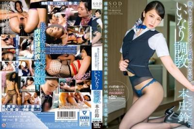 STARS-006 本庄鈴 美人キャビンアテンダントを高級ホテルの一室でいいなり調教